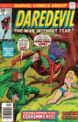Daredevil #142, the Cobra and Mr Hyde