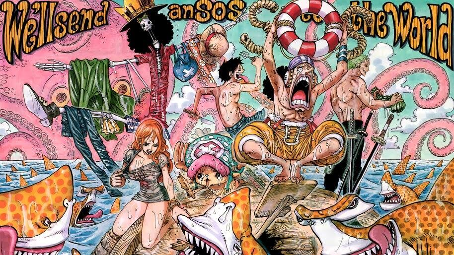 One Piece, Straw Hat Pirates, 4K, #6.166