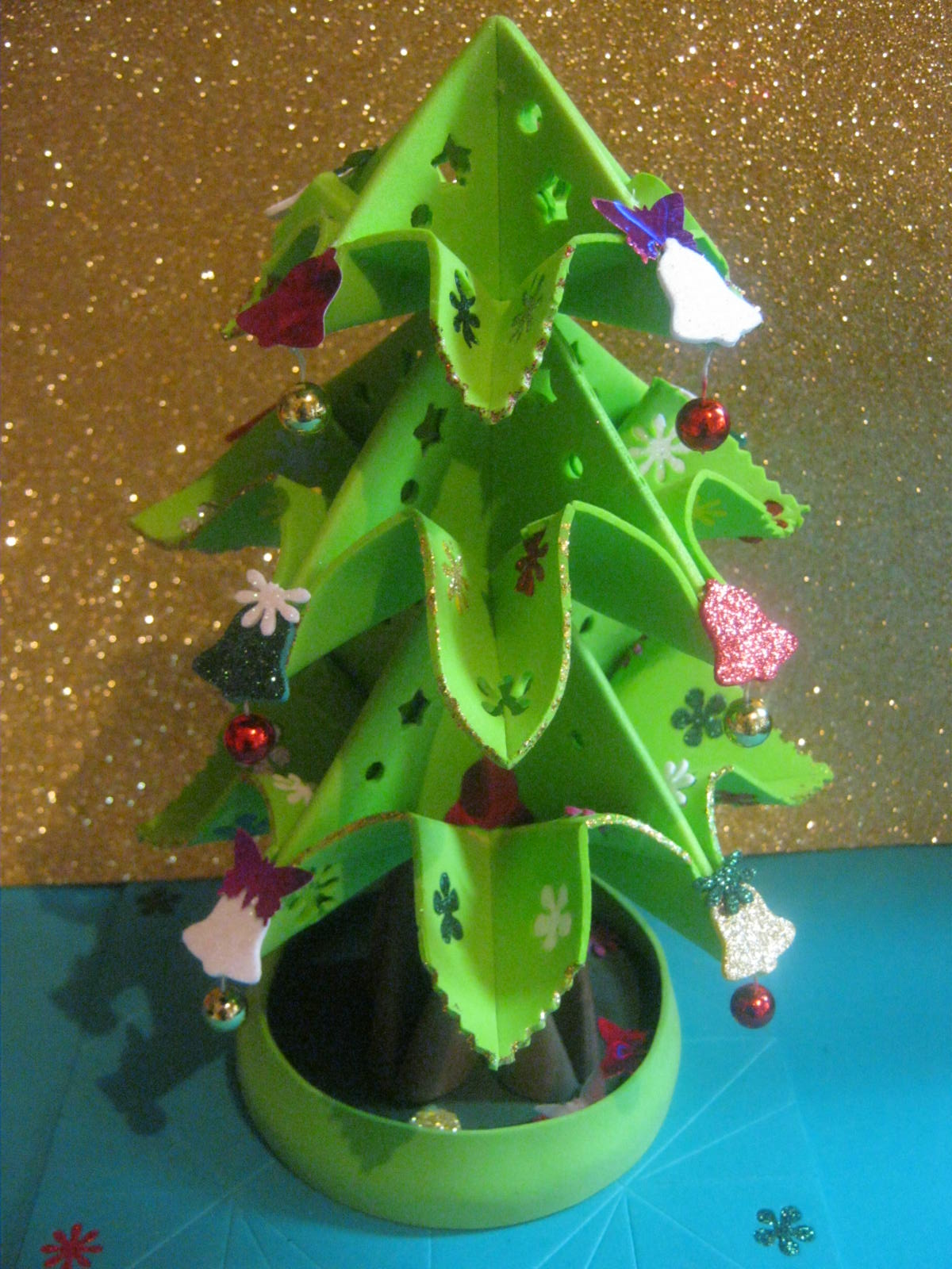 Zona purpura christmas tree arbolito de navidad arbol - Decoracion navidad goma eva ...