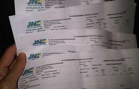 Cara Cek Resi JNE Kiriman Dari Cirebon