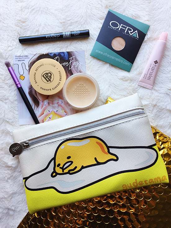 July 2017 ipsy Glambag: Over Easy, July 2017 ipsy Glambag, ipsy x gudetama