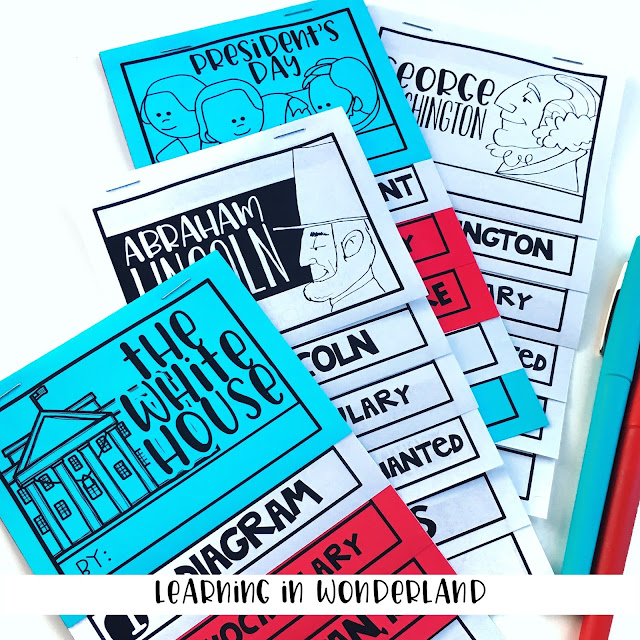 Love these little social studies mini flipbooks!