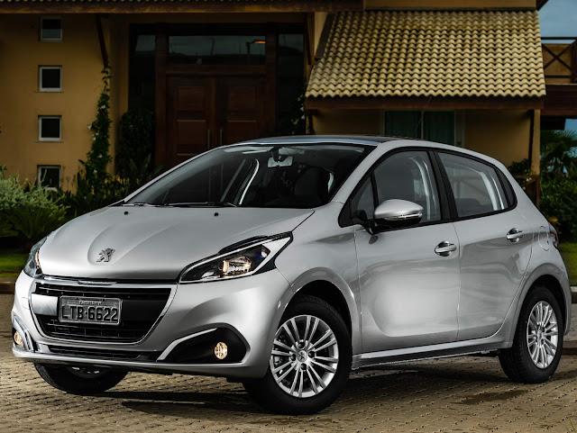 Novo Peugeot 208 1.0 2018