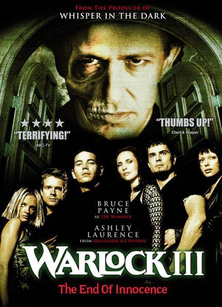 Poster Of Warlock III 1999 In Hindi Dual Audio Bluray 720P Free Download