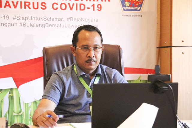 Gede Suyasa Ungkap GTTPP COVID-19 Buleleng Cegah Klaster Baru di Pasar-Pasar