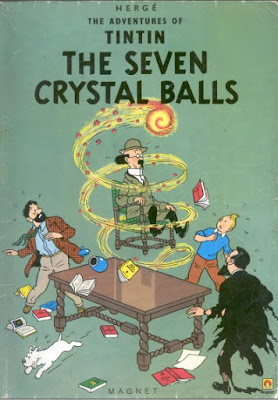Download free ebook Tintin and the Seven Crystal Balls pdf