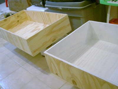 diy plywood storage boxes construction
