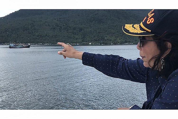 Menteri Susi Tantang Anies-Sandi Buat Danau Sunter seperti di Jenewa