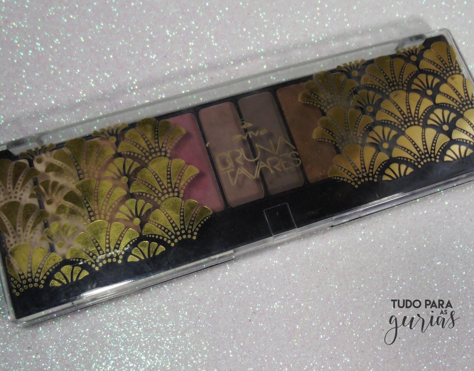 Resenha: Palette de sombras Très Chic da Bruna Tavares para Jequiti.