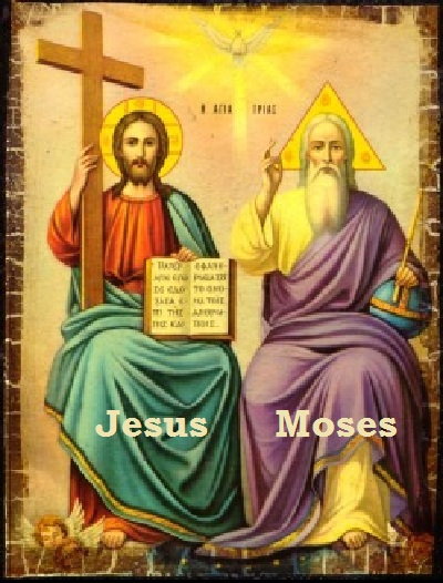Image result for jesus and moses