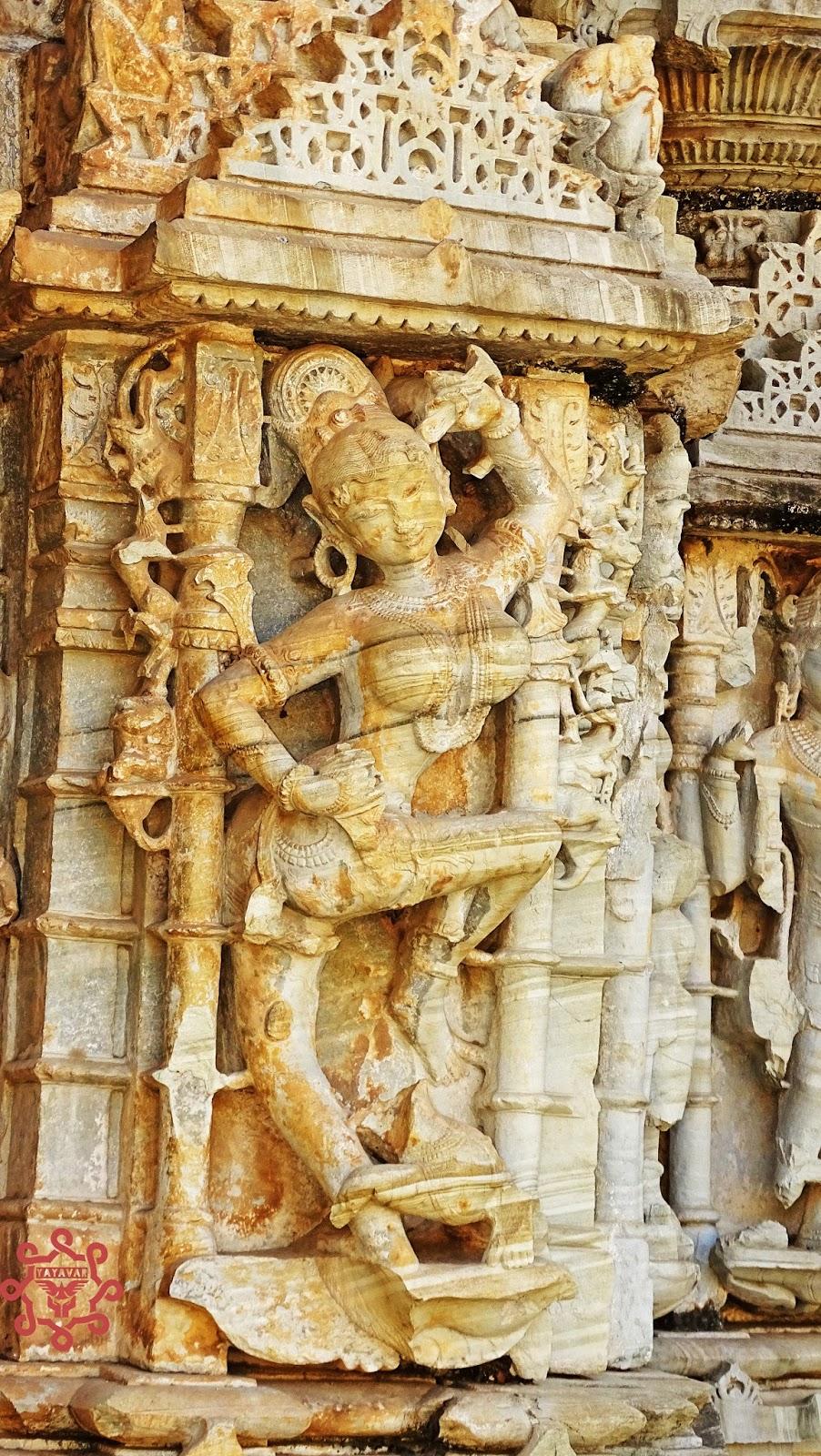 Statues Alike Khajuraho