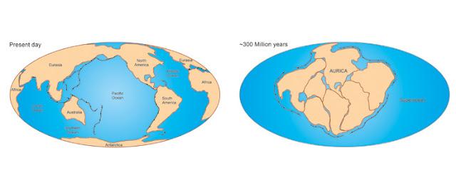 Daqui a 300 milhões de anos, na Terra teremos o supercontinente Aurica
