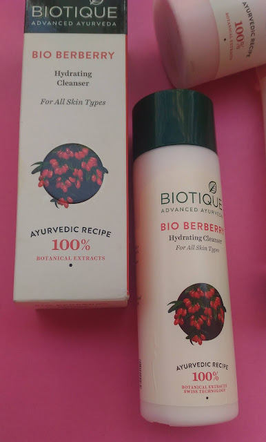 Bio Berberry Hydrating cleanser Review