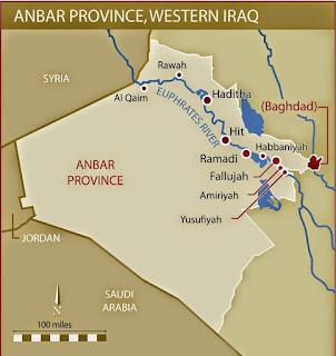 Iraqi western province of al-Anbar