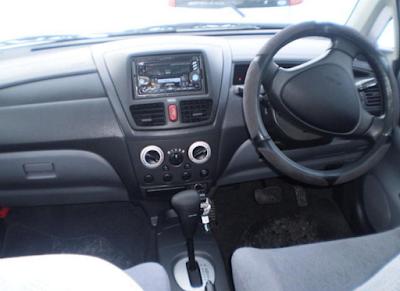Interior Suzuki Aerio