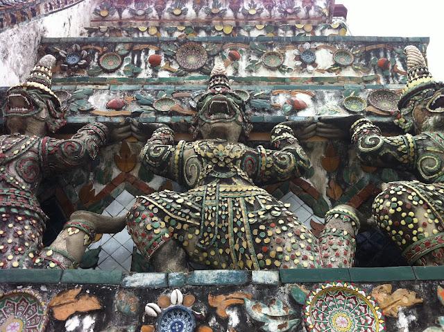 Esculturas de Wat Arun