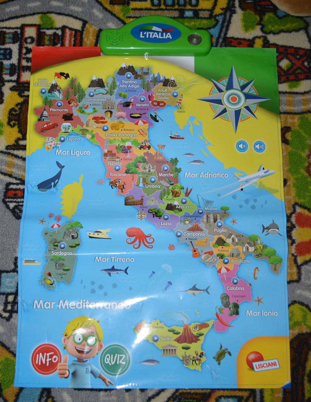 Cartina Italia Interattiva Html.La Creativita Di Anna I M A Genius Mappa Elettronica Interattiva Italia La Grande Storia Dei Dinosauri By Lisciani