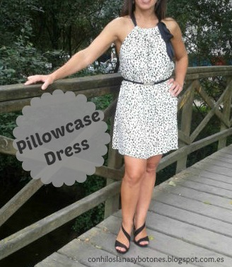 conhiloslanasybotones - Pillowcase Dress