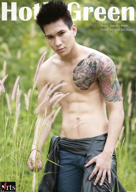 Myanmar News Articles: Mister Model Myanmar 2014 Oak Thar