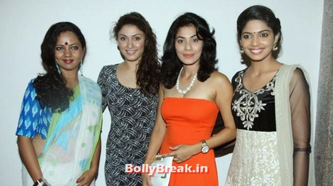 Neha, Manjari Phadnis, Manisha and Pooja Samant, Marathi Actress Pics from Poshter Boyz 2014 Marathi Movie Music Launch