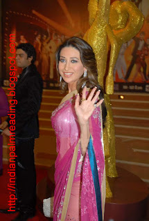 Karishma Kapoor Palm Reading