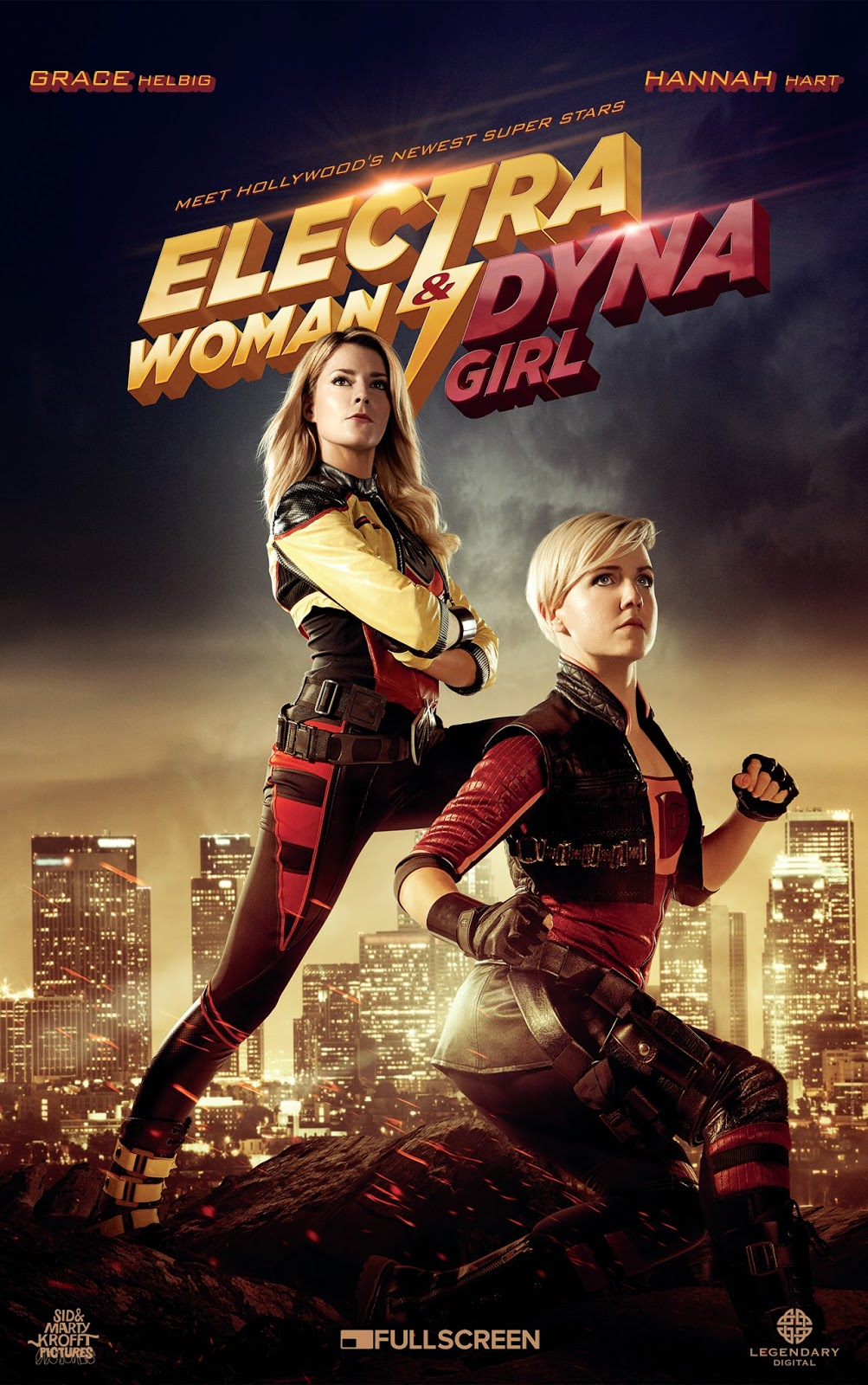 Electra Woman and Dyna Girl (2016)