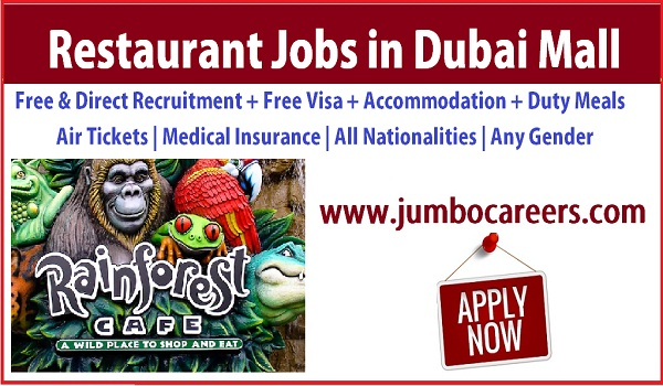 Latest restaurant jobs in Dubai, UAE Restaurant jobs with accommodation,