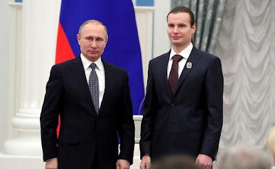 Vladimir Putin, Alexei Dmitriyev.