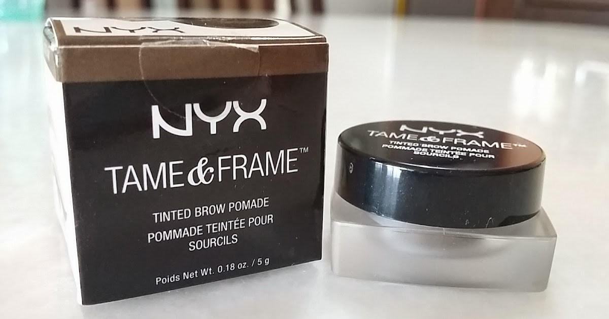 beauty with vina: REVIEW : NYX TAME & FRAME IN BRUNETTE ...