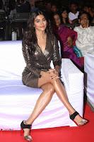 Pooja Hegde looks glamarous in deep neck sleevless short tight golden gown at Duvvada Jagannadham thank you meet function 102.JPG