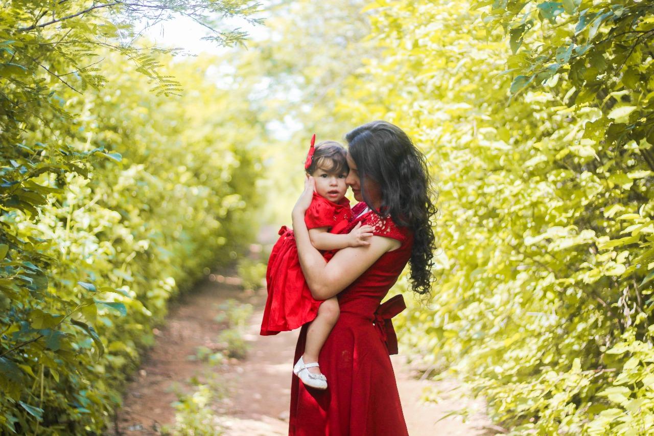 Ensaio Fotográfico Dia das Mães - Lookinho Amy Baby Enxovais