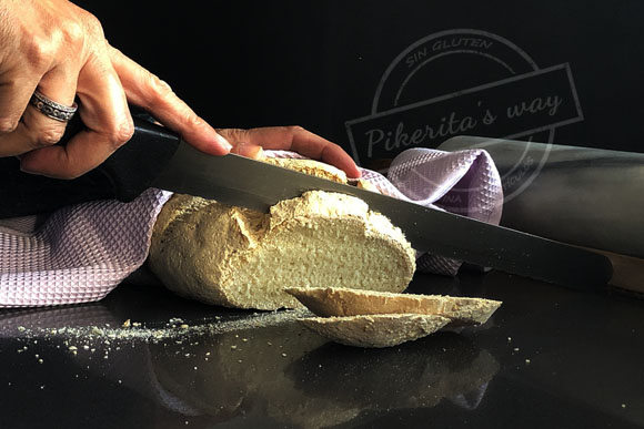 Pan sin gluten con fermento natural