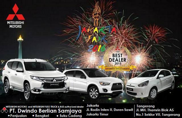 Mitsubishi Bintaro dan Radin Intan Bagi-bagi Hadiah di PRJ 2016