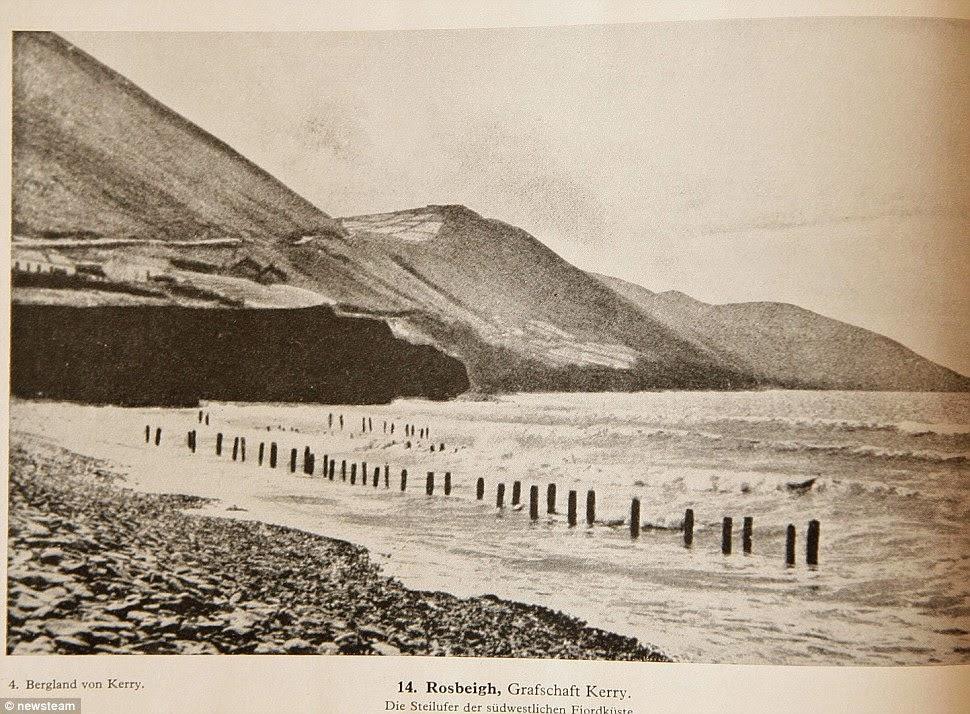 Fotografías alemanas de las playas irlandesas