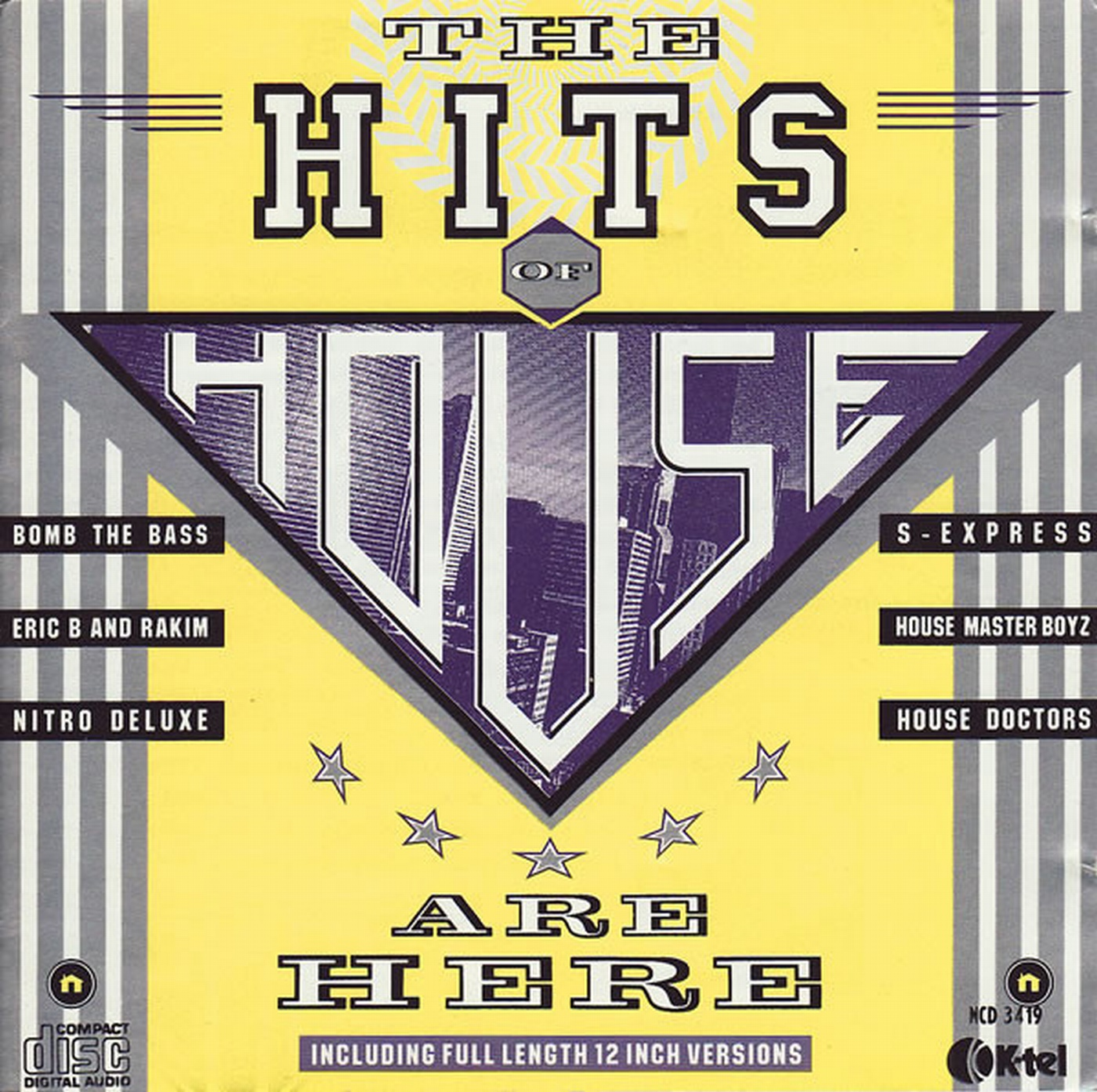 The hits of house are here cd compilation 1988 dance for 1988 dance hits