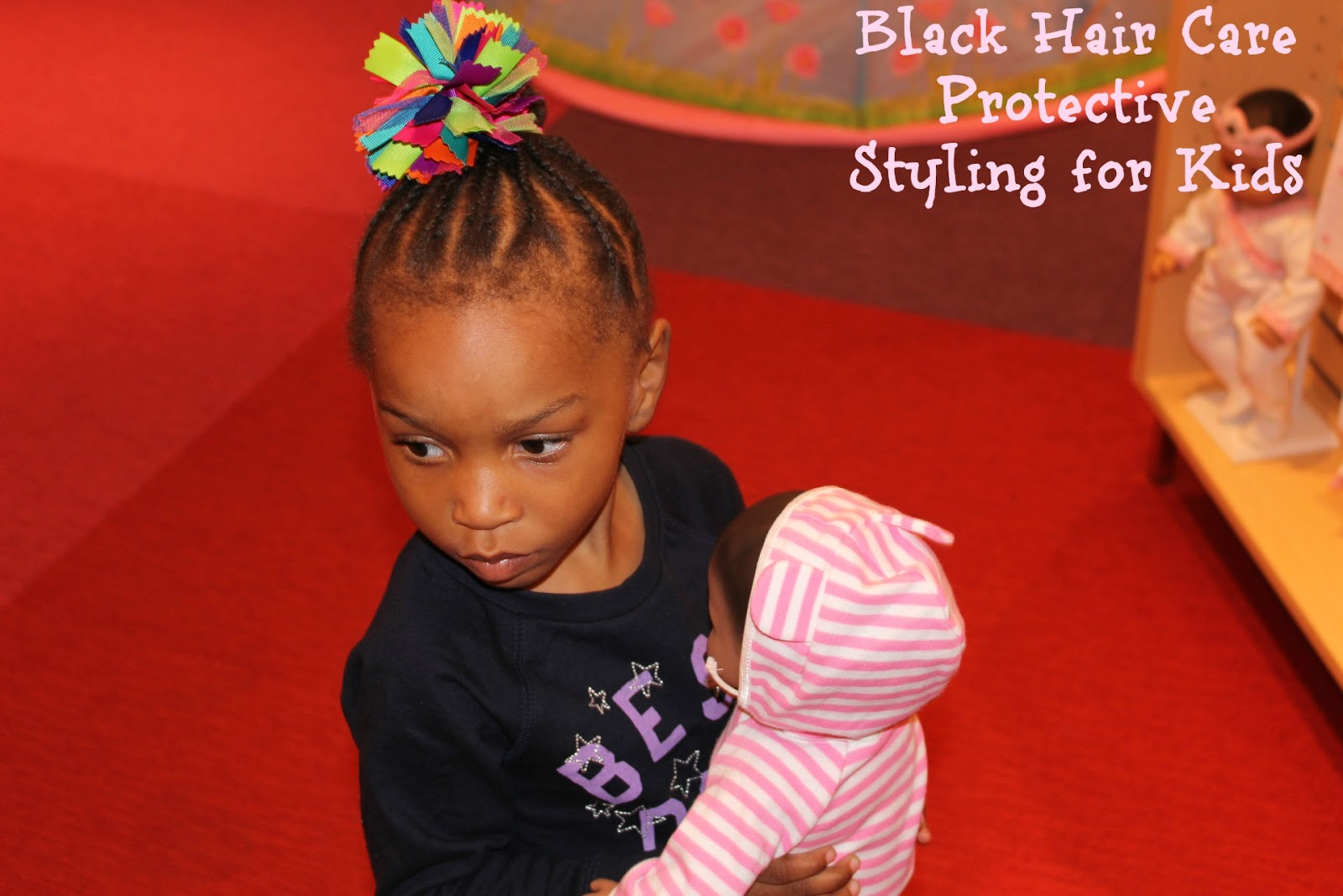 Black Hair Care Protective Styling For Kids Annmarie John Llc A Travel And Lifestyle Blog