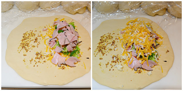 Broccoli-Ham-And-Cheese-Pockets-Recipe-Grated-Cheese-Broccoli-Ham.jpg