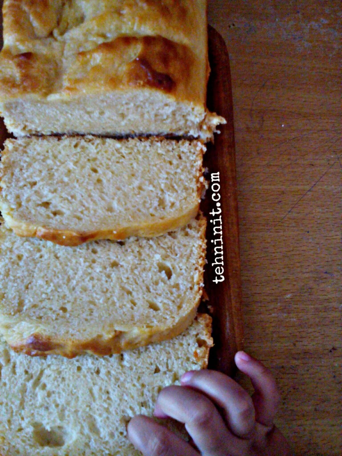 Roti Loaf Lembut Tanpa Ulen Low Budget Kitchen