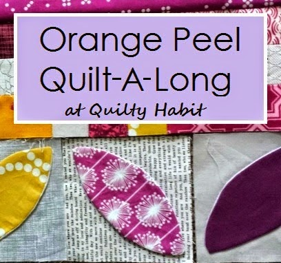 Orage Peel Quilt Along @ Quilty Habit