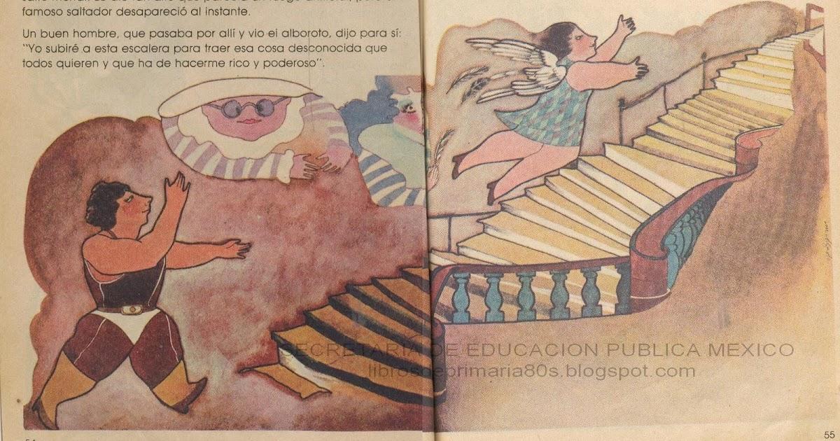 Libros De Primaria De Los 80's: Esta Pequeña Escalera Sólo