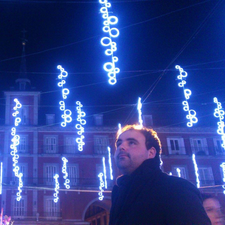 Navidad en la plaza Mayor de Madrid.