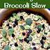 NUTTY BROCCOLI SLAW