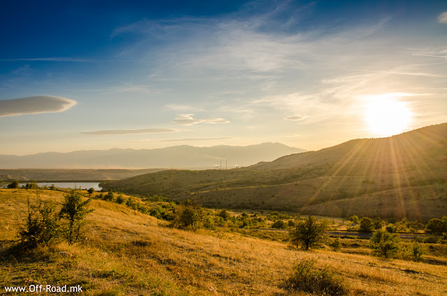 Sunset in Mariovo