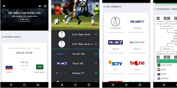 Aplikasi Live Streaming KliX TV
