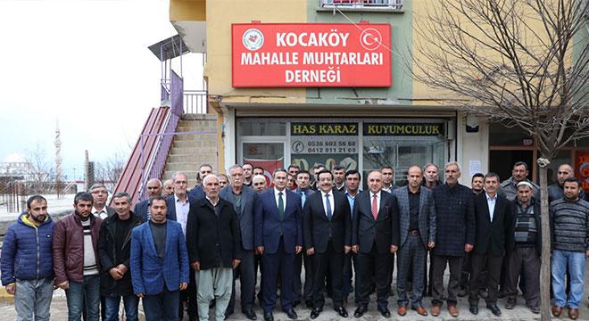 Cumali Atilla'dan Kocaköy'e ziyaret