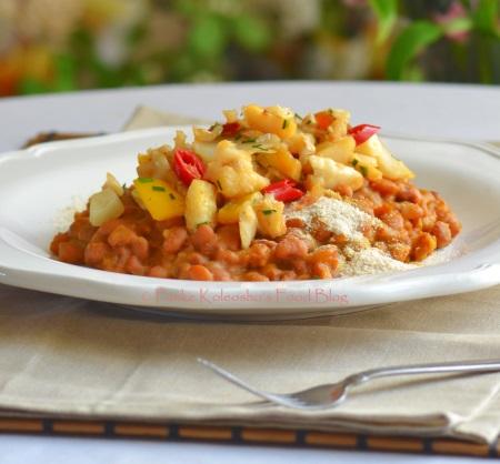 Beans gari funke koleosho 39 s new nigerian cuisine for Fish n gari