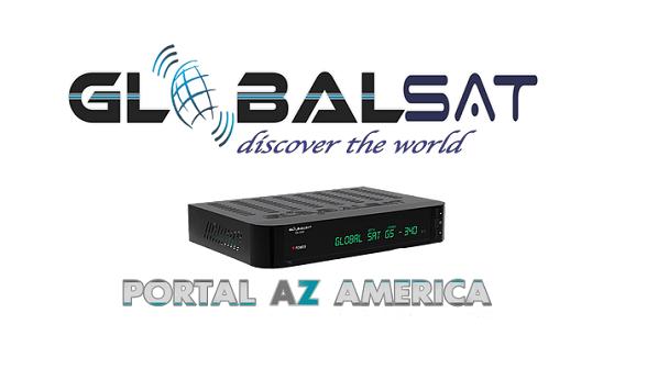 Resultado de imagem para GLOBALSAT GS340 PORTAL AZAMERICA