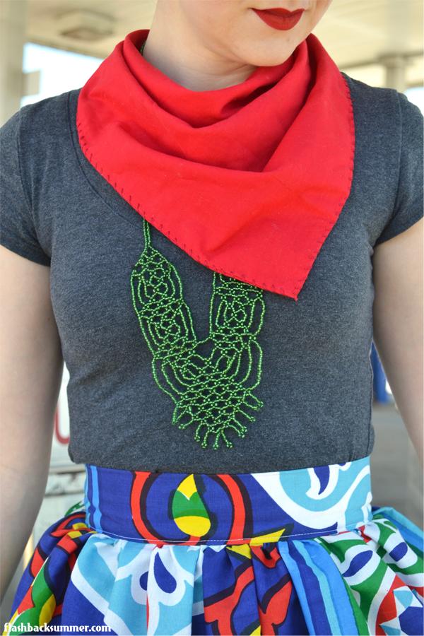 Flashback Summer: Egyptian Ramadan Fabric Skirt