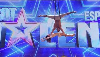 Celia y Marco; los acróbatas. Got Talent Gala 2