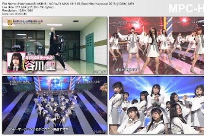AKB48, NMB48, Nogizaka46 & Keyakizaka46 Live at Best Hits! Kayousei 2018